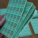 Saving S & H Green Stamps