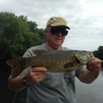 Smallmouth on Topwater