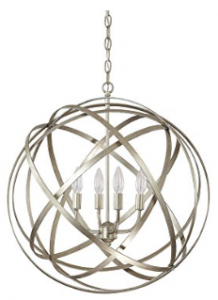 Capital Lighting 4234WG Axis 4-Light Pendant