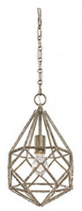 Feiss 1-Light Marquise Mini Pendant