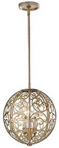 Feiss F2538:3SLP Arabesque Chandelier