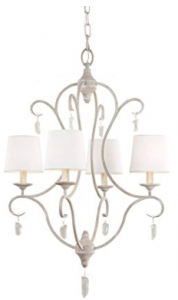 Feiss F2932:4CHKW 4-Bulb Chandelier