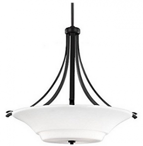 Feiss F2983:3ORB 3-Light Uplight Pendant