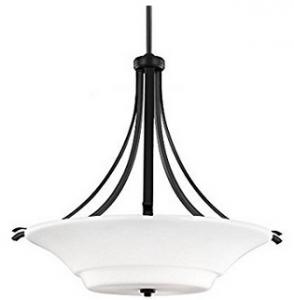Feiss F2983:3ORB 3-Light Uplight Pendant