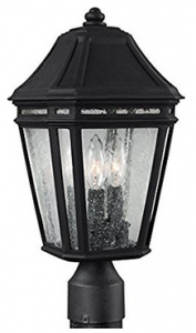 Feiss OL11307BK, Londontowne Outdoor Post Lighting