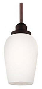 Feiss P1344ORBH 1-Light Pendant, Mini