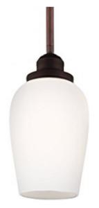 Feiss P1344ORBH 1-Light Pendant, Mini