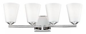 Feiss VS20204PN 4-Light Vanity Light Fixture