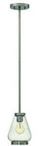 Hinkley 3687BN One Light Pendant