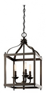 Kichler Lighting 42566OZ Larkin 3-Light Foyer Pendant