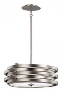 Kichler Lighting 43301NI Roswell 3LT Pendant