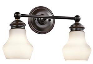 Kichler Lighting 45487ORZ Currituck 2LT Vanity Fixture