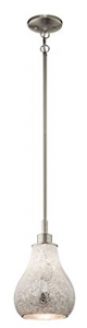 Kichler Lighting 65407 Crystal Ball 1LT Mini-Pendant