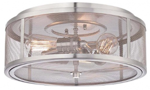 Minka Lavery 4133-84 3 Light Flush Mount