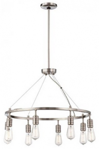 Minka Lavery 4138-84 8-Light Chandelier