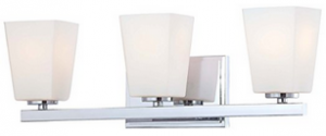 Minka Lavery 6543-77, City Square, 3 Light Bath Fixture