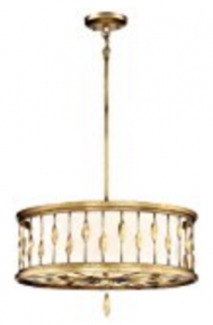 Minka Lavery Minka 4054-571 Transitional Three Light Convertable Pendant