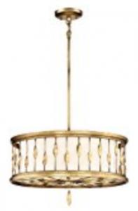 Minka Lavery Minka 4054-571 Transitional Three Light Convertable Pendant