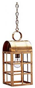 Northeast Lantern 6142-DB-MED-CSG Culvert Top H-Bars Hanging Lantern