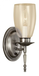Norwell Lighting 3306-PW-CL Legacy - One Light Wall Sconce