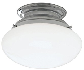Norwell Lighting 5370-CH-SO Clayton - One Light Flush Mount