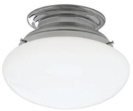 Norwell Lighting 5370-CH-SO Clayton - One Light Flush Mount