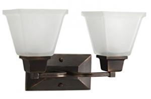 Progress Lighting P2738-74 2-Light Bath Fixture