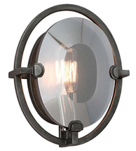 Troy Lighting B2821 Prism 1 Light 7 inch Graphite ADA Wall Sconce