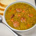 Janet's Lentil Andouille Soup