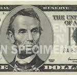 Writing Five Dollar Checks