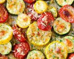 Roasted Squash and Tomatoes